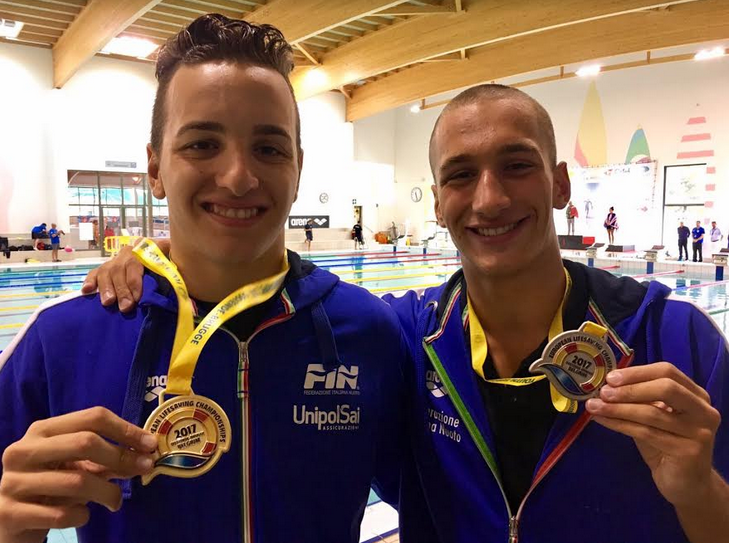 Europei di salvamento, day 1: inizio col botto: Gilardi e Barbati oro nei superlilfe saver!